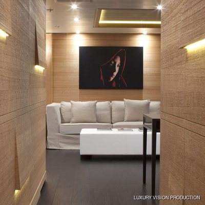 Spirit Yacht Master Stateroom - View into Salon
