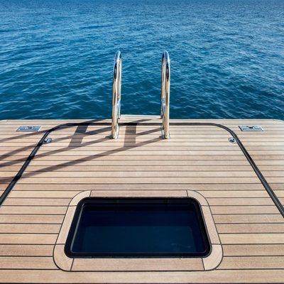 Vertigo Yacht Swim Platform