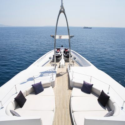 Talisman Maiton Yacht Forward of Bridge
