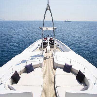 Talisman Maiton Yacht Forward of Bridge