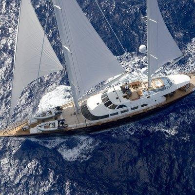 Antara Yacht Aerial View