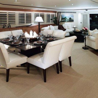 Envy Yacht Dining Salon
