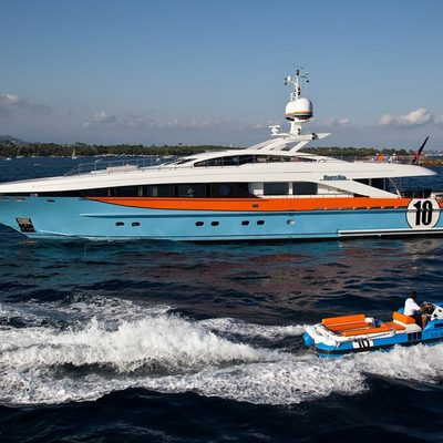 Aurelia Yacht Profile with Tender