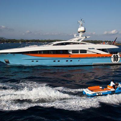 Aurelia Yacht Profile with Tender