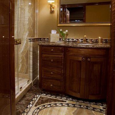 Top Five Yacht Guest Shower Room