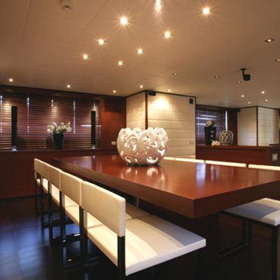 Annamia Yacht Clear Table