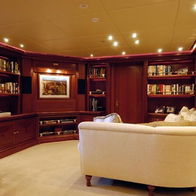Athena Yacht Private Salon