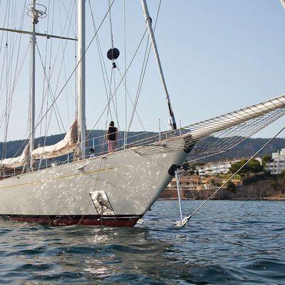 Gweilo Yacht At Anchor