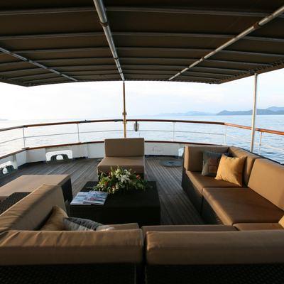 Calisto Yacht Aft Sundeck