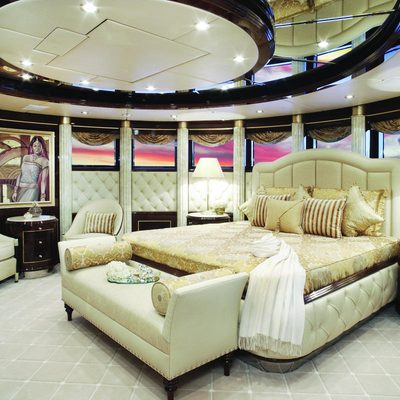 Diamonds Are Forever Yacht VIP Stateroom