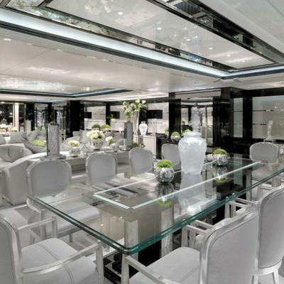 Silver Angel Yacht Dining Salon