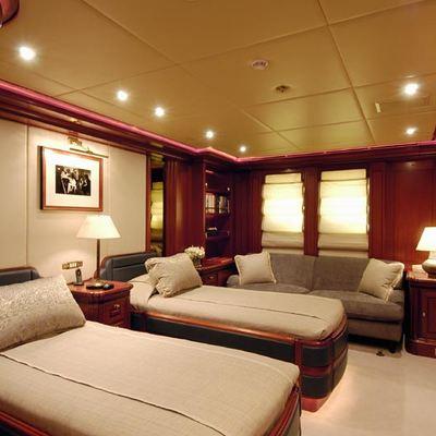 Athena Yacht Twin Stateroom