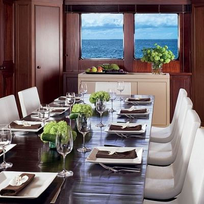 Cyan Yacht Dining Table Set