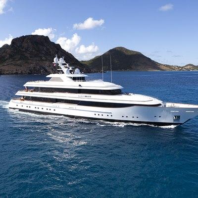 Lady Britt Yacht Running Shot - Side