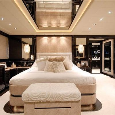 African Cat Yacht Master Stateroom