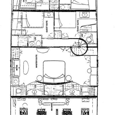 Empire Sea Yacht Deck Plans
