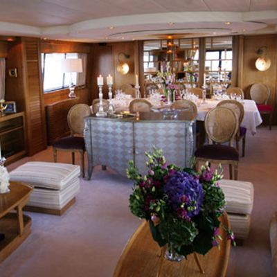 Sea Lady II Yacht Dining & Salon