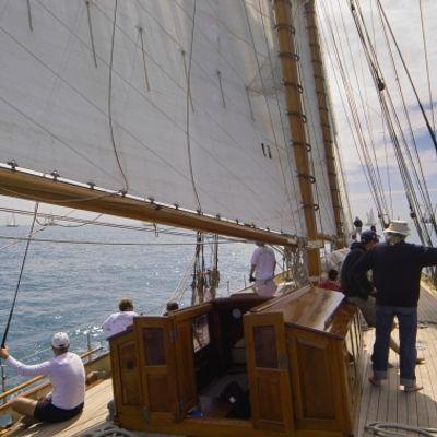 Sunshine Yacht Deck View