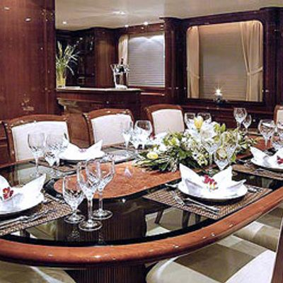 Accama Yacht Dining Salon
