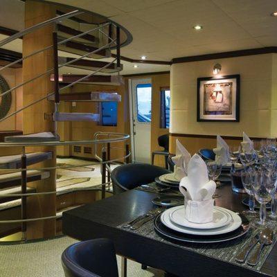Chosen One Yacht Dining