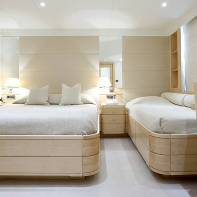 La Tania Yacht Triple Stateroom