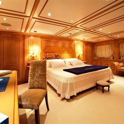 Enigma Yacht Master Stateroom