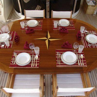 Happy Spirit Yacht Dining
