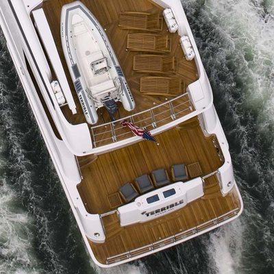 Usher Yacht Overhead - Tender