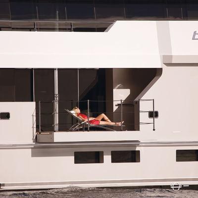 Big Fish Yacht Balcony