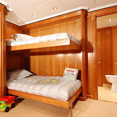 Milk and Honey Yacht Bunkbeds