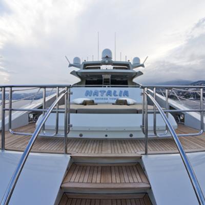 Escape II Yacht Aft view