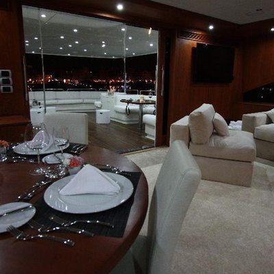 Seven Spices Yacht Dining Salon - Aft