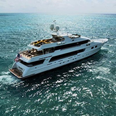 Top Five Yacht Aerial