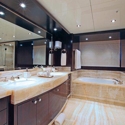 Carpe Diem Yacht VIP Bathroom