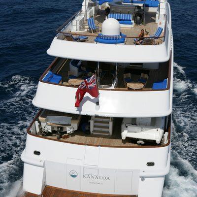 Lady Ellen II Yacht Aft Decks