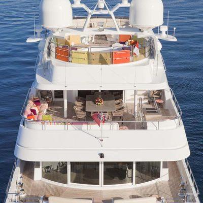 Daloli Yacht Aft Decks