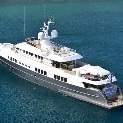 Berzinc Yacht Profile Aft View