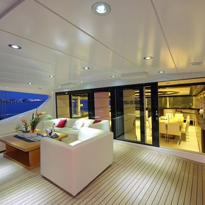 Perla del Mare Yacht Deck Seating