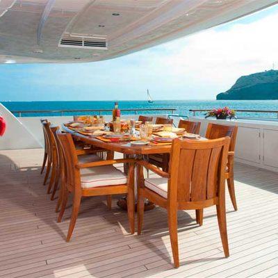 Avalon Yacht Exterior Dining