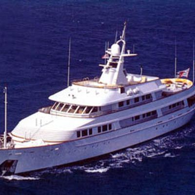 Legend Yacht Aerial Front View