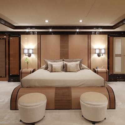 Meamina Yacht Master Stateroom - Front View