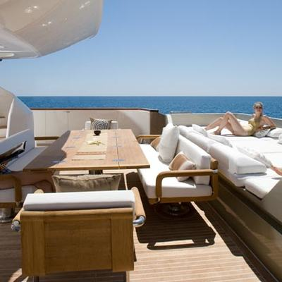 Namaste 8 Yacht Deck Loungers