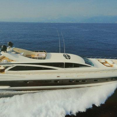 Antelope III Yacht Running Shot - Profile