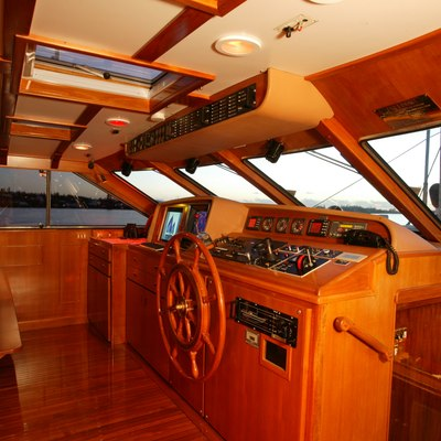 Freedom Yacht Wheelhouse