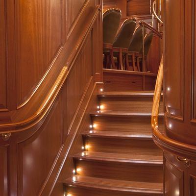 Athos Yacht Stairwell