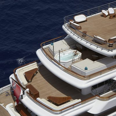 Pegasus VIII Yacht Deck Overview