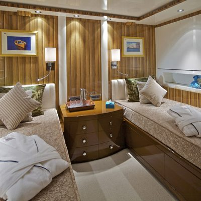 Mia Rama Yacht First Twin Stateroom