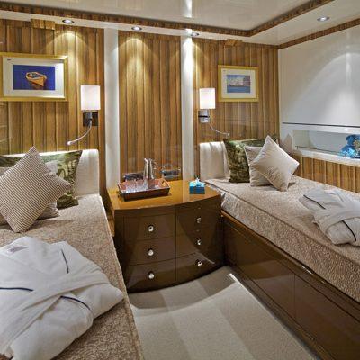 Mia Rama Yacht First Twin Stateroom