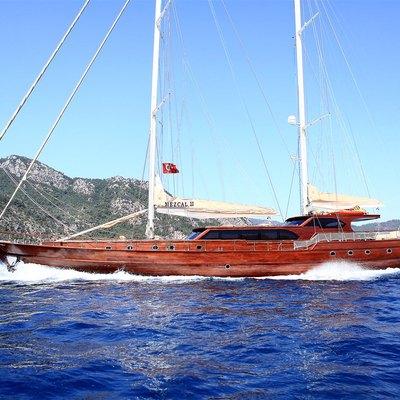 Mezcal 2 Yacht Running Shot