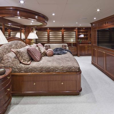 Far From It Yacht Master Stateroom - Side View